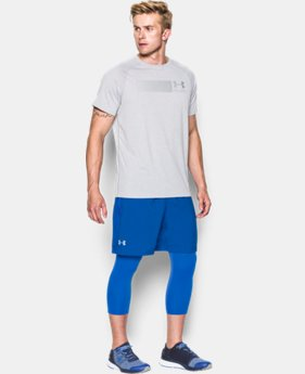 "Men's UA Launch Run 7"" Printed Shorts   $34.99"
