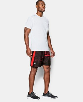 "Men's UA Launch Run 7"" Printed Shorts  1 Color $25.99 to $26.99"