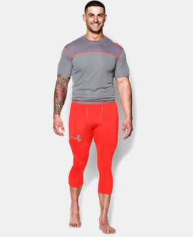 Men's UA Combine® Training Ascent ¾ Compression Leggings  1 Color $33.99