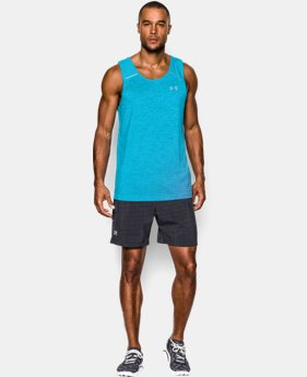 Men's UA HeatGear® ArmourVent™ Launch Run Singlet