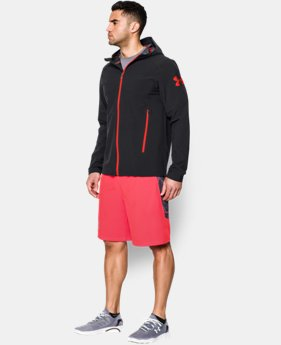 Men's UA Combine® Training Helix Storm Shell Jacket