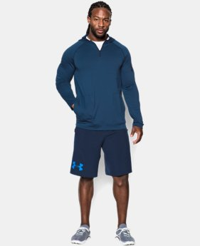 Men's UA Combine® Training Slub Fleece ¼ Zip Hoodie