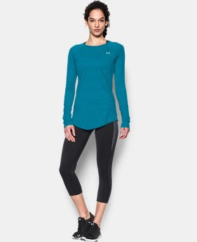 Women's UA Sunblock 50 Long Sleeve LIMITED TIME: FREE U.S. SHIPPING 1 Color $37.99