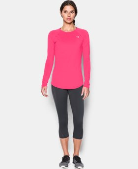 Women's UA Sunblock 50 Long Sleeve  1 Color $49.99