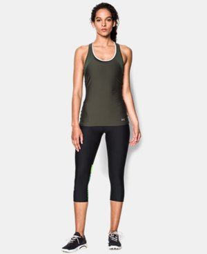 Women's UA HeatGear® Armour Mesh Tank  1 Color $14.99