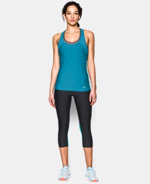 Women's UA HeatGear® Armour Mesh Tank LIMITED TIME: FREE U.S. SHIPPING 4 Colors $14.99 to $21.99
