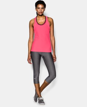 Women's UA HeatGear® Armour Mesh Tank LIMITED TIME: FREE U.S. SHIPPING 2 Colors $14.99 to $21.99