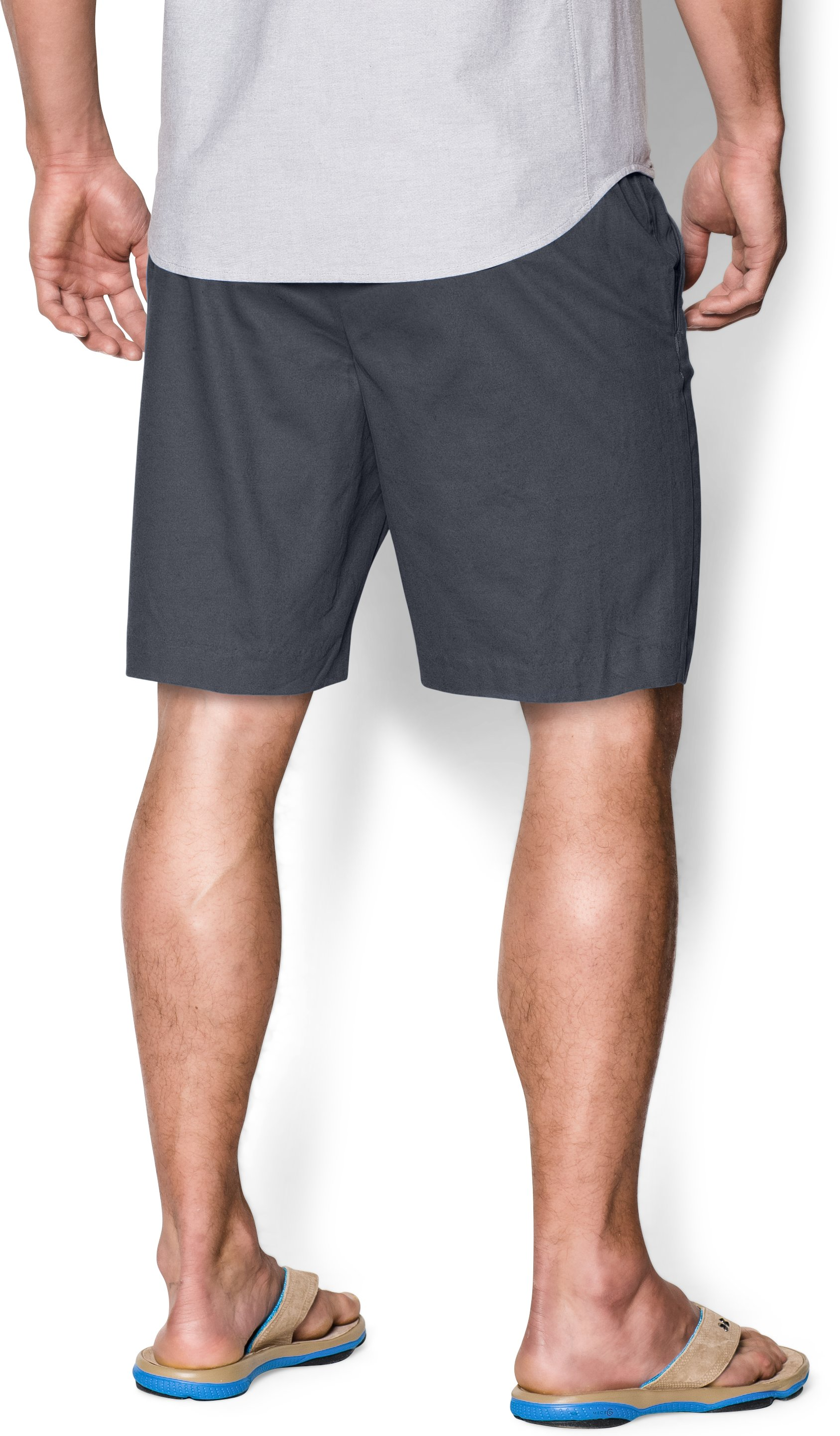 Men's UA Performance Chino Shorts, STEALTH GRAY,