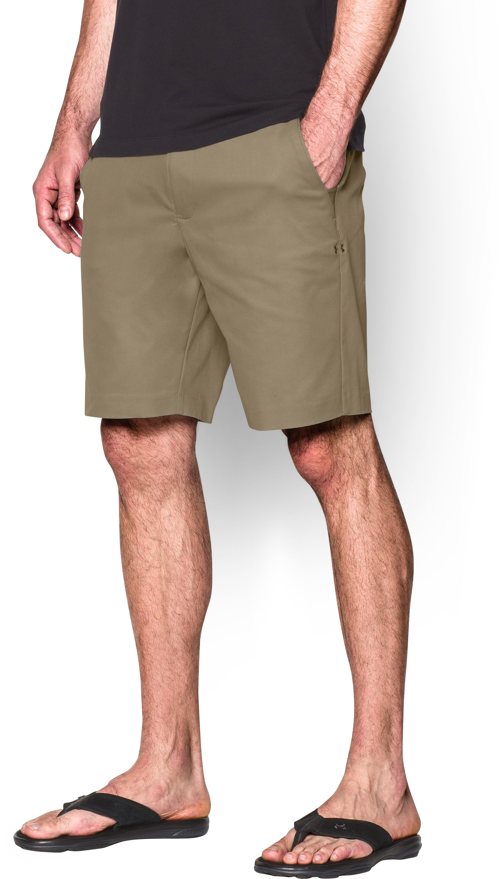 Men's UA Performance Chino Shorts, Canvas, undefined