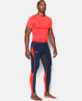 Men's UA HeatGear® ArmourVent™ Compression Leggings