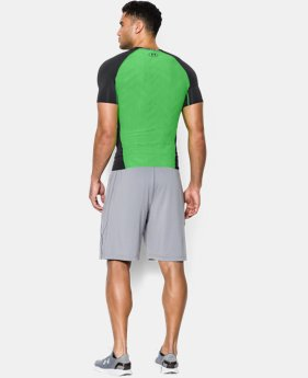 Men's UA HeatGear® ArmourVent™ Short Sleeve Compression Shirt