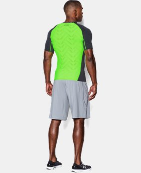 Men's UA HeatGear® ArmourVent™ Short Sleeve Compression Shirt LIMITED TIME: FREE U.S. SHIPPING  $20.24 to $26.99