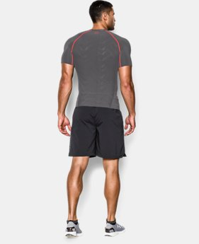 Men's UA HeatGear® ArmourVent™ Short Sleeve Compression Shirt   $26.99