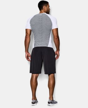 Men's UA HeatGear® ArmourVent™ Short Sleeve Compression Shirt LIMITED TIME: FREE U.S. SHIPPING 1 Color $20.24 to $26.99
