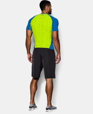 Men's UA HeatGear® ArmourVent™ Short Sleeve Compression Shirt LIMITED TIME: FREE U.S. SHIPPING 2 Colors $20.24 to $26.99