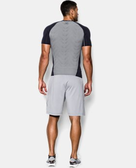 Men's UA HeatGear® ArmourVent™ Short Sleeve Compression Shirt  3 Colors $29.99 to $37.99