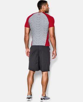 Men's UA HeatGear® ArmourVent™ Short Sleeve Compression Shirt LIMITED TIME: FREE U.S. SHIPPING  $20.24