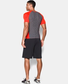Men's UA HeatGear® ArmourVent™ Short Sleeve Compression Shirt LIMITED TIME: UP TO 50% OFF 2 Colors $20.24 to $26.99