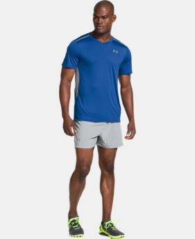 Men's UA HeatGear® ArmourVent™ Run Short Sleeve