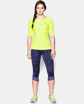 Women's UA Sun Sheer ½ Sleeve  1 Color $20.99 to $26.99