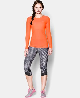 Women's UA Sun Sheer Long Sleeve  1 Color $29.99