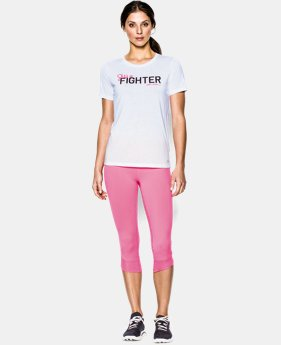 Women's UA Power In Pink® She's A Fighter T-Shirt