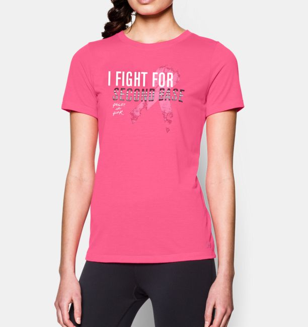 Women's UA Power In Pink® Check Yourself T-Shirt | Under Armour US