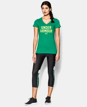 Women's UA Charged Cotton® Tri-Blend Under Armour T-Shirt  2 Colors $20.99