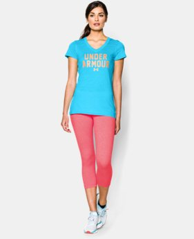 Women's UA Charged Cotton® Tri-Blend Under Armour T-Shirt