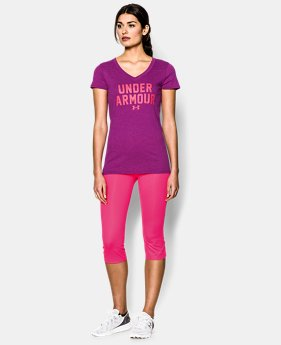 Women's UA Charged Cotton® Tri-Blend Under Armour T-Shirt LIMITED TIME: FREE U.S. SHIPPING 2 Colors $16.99 to $20.99