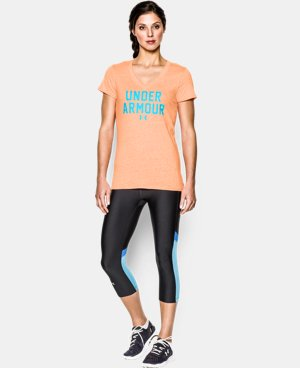 Women's UA Charged Cotton® Tri-Blend Under Armour T-Shirt LIMITED TIME: FREE U.S. SHIPPING 6 Colors $16.99 to $20.99