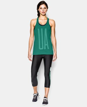 Women's UA Charged Cotton® Tri-Blend UA Tank LIMITED TIME: FREE U.S. SHIPPING 1 Color $14.99 to $18.99