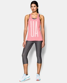 Women's UA Charged Cotton® Tri-Blend UA Tank