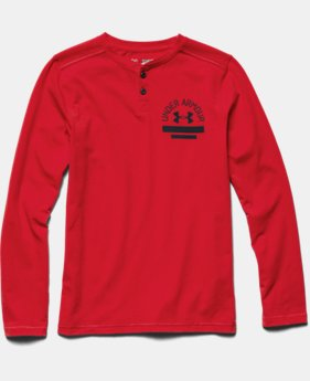 Boys' UA Henley Long Sleeve