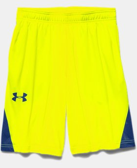 Boys' UA HeatGear ArmourVent™ Shorts