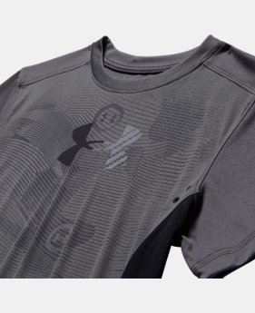 Boys' UA Show Me Sweat UPF T-Shirt  1 Color $22.99