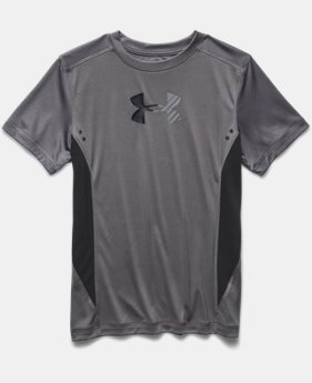 Boys' UA Show Me Sweat UPF T-Shirt