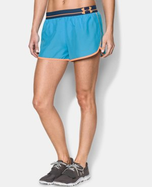 Women's UA Perfect Pace Short LIMITED TIME: FREE U.S. SHIPPING 5 Colors $13.49 to $22.99