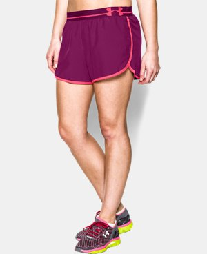 Women's UA Perfect Pace Short LIMITED TIME: FREE U.S. SHIPPING 3 Colors $13.49 to $22.99