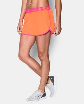 Women's UA Perfect Pace Short LIMITED TIME: FREE U.S. SHIPPING 3 Colors $13.49 to $17.99