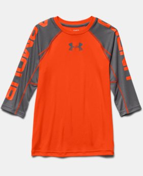 Boys' UA Tech™ ¾ Sleeve T-Shirt
