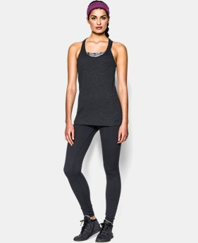 Women's UA Charged Cotton® Tri-Blend Stadium Tank  1 Color $14.99 to $18.99