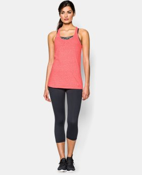 Women's UA Charged Cotton® Tri-Blend Stadium Tank  1 Color $18.99