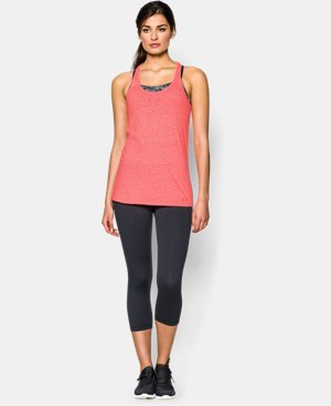 Women's UA Charged Cotton® Tri-Blend Stadium Tank LIMITED TIME: FREE U.S. SHIPPING  $14.99 to $18.99