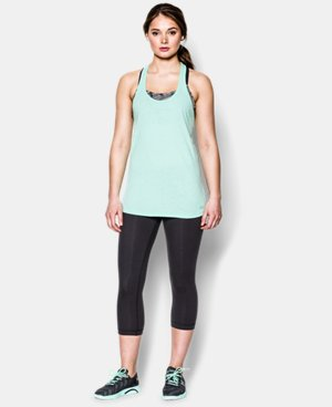 Women's UA Charged Cotton® Tri-Blend Stadium Tank LIMITED TIME: FREE U.S. SHIPPING 2 Colors $14.99 to $18.99