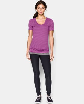 Women's UA Long & Lean Printed V-Neck LIMITED TIME: FREE U.S. SHIPPING 1 Color $26.99