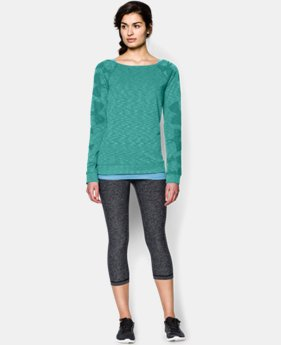 Women's UA Kaleidelogo Pullover Long Sleeve  1 Color $35.99