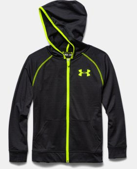 Boys' UA Combine® Training Slub Fleece Hoodie