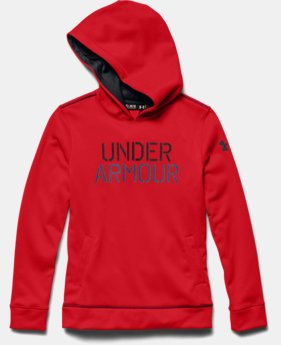 Boys' Armour® Fleece Word Hoodie