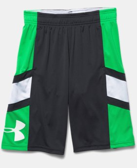 Boys' UA Crossover Basketball Shorts